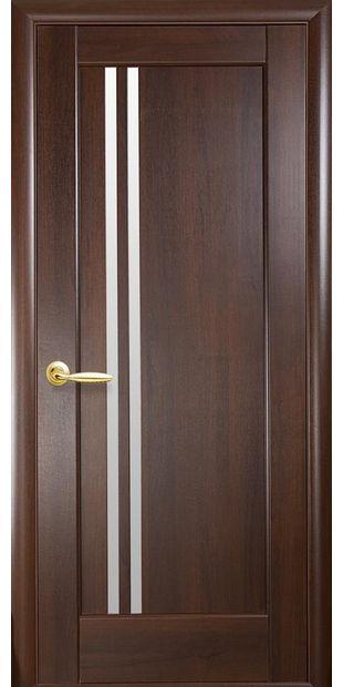 Межкомнатные двери Делла со стеклом сатин Делла