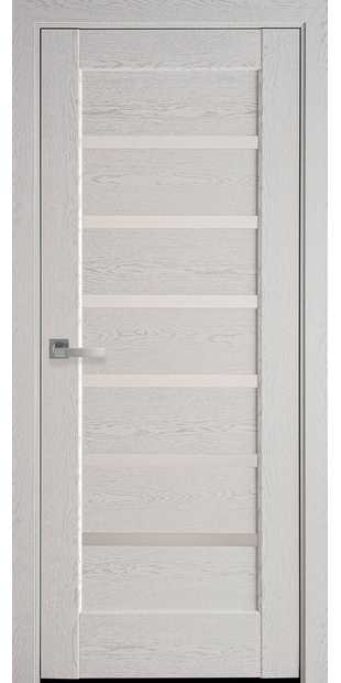 Межкомнатные двери Линнея со стеклом сатин linneya-40