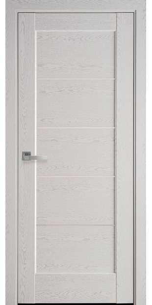 Межкомнатные двери Мира со стеклом сатин mira-27
