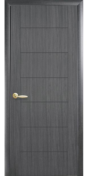 Межкомнатные двери Рина глухое с гравировкой Рина