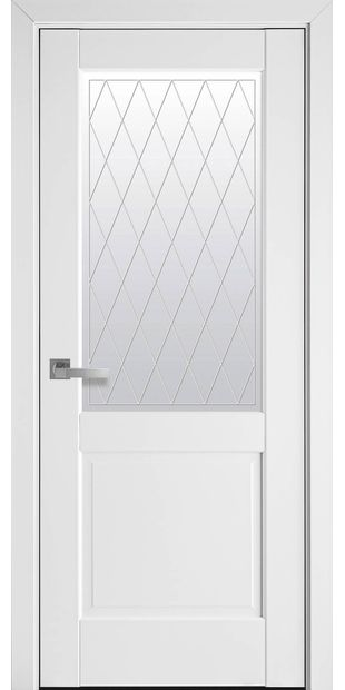 Межкомнатные двери Эпика со стеклом сатин и рисунком Р2 jepyka-4