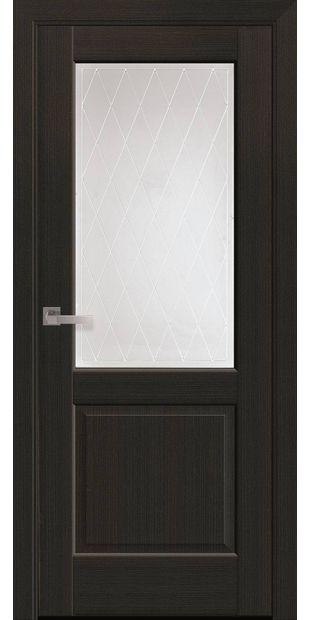 Межкомнатные двери Эпика со стеклом сатин и рисунком Р2 jepyka-6