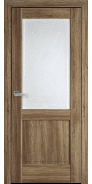 Межкомнатные двери Эпика со стеклом сатин и рисунком Р2 jepyka-10