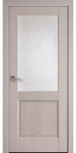 Межкомнатные двери Эпика со стеклом сатин и рисунком Р2 jepyka-18