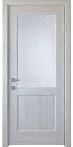 Межкомнатные двери Эпика со стеклом сатин и рисунком Р2 jepyka-20