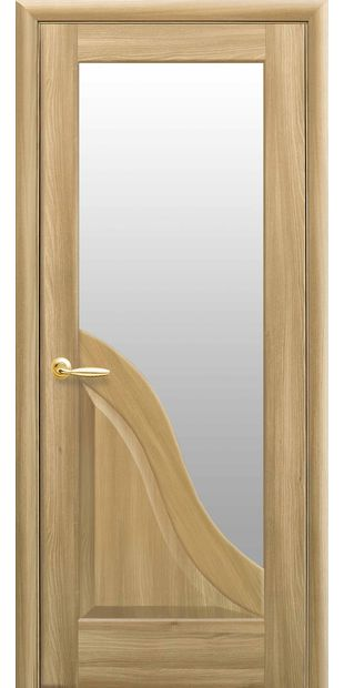 Межкомнатные двери Амата со стеклом сатин amata-26