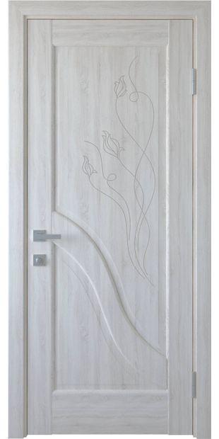 Межкомнатные двери Амата глухое с гравировкой amata-5