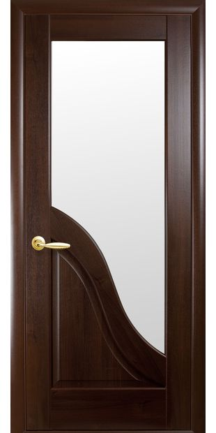 Межкомнатные двери Амата со стеклом сатин amata-8