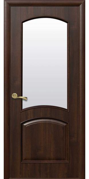 Межкомнатные двери Антре со стеклом сатин antr