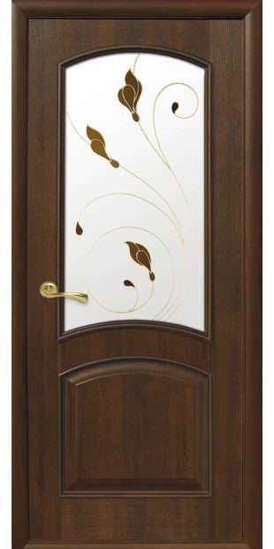 Межкомнатные двери Антре со стеклом сатин и рисунком Р1 antre-11
