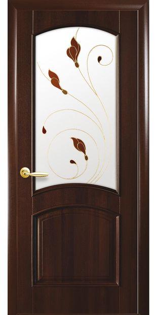 Межкомнатные двери Антре со стеклом сатин и рисунком Р1 antre-18