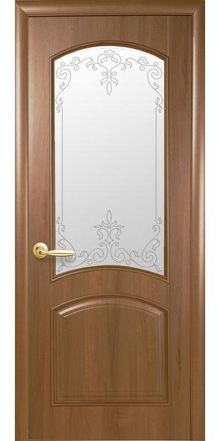 Межкомнатные двери Антре со стеклом сатин и рисунком Р2 antre-2