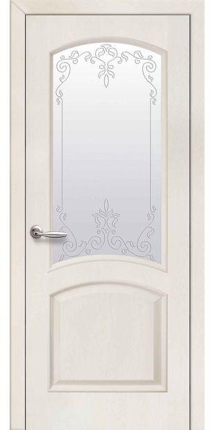 Межкомнатные двери Антре со стеклом сатин и рисунком Р2 antre-8