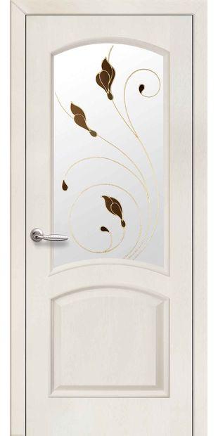 Межкомнатные двери Антре со стеклом сатин и рисунком Р1 antre-9