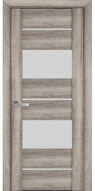 Межкомнатные двери Аскона со стеклом сатин askona