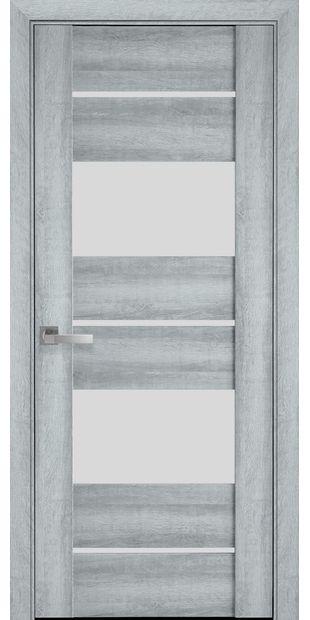 Межкомнатные двери Аскона со стеклом сатин askona3