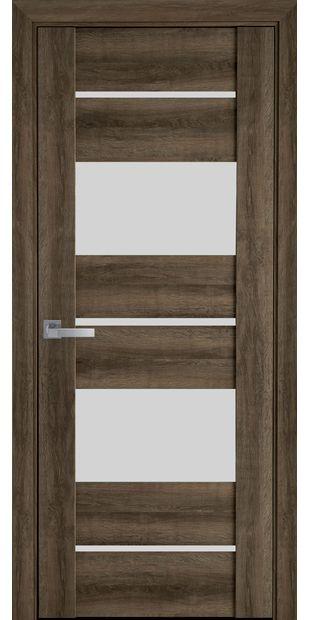 Межкомнатные двери Аскона со стеклом сатин askona5