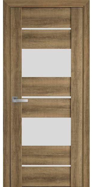 Межкомнатные двери Аскона со стеклом сатин askona7