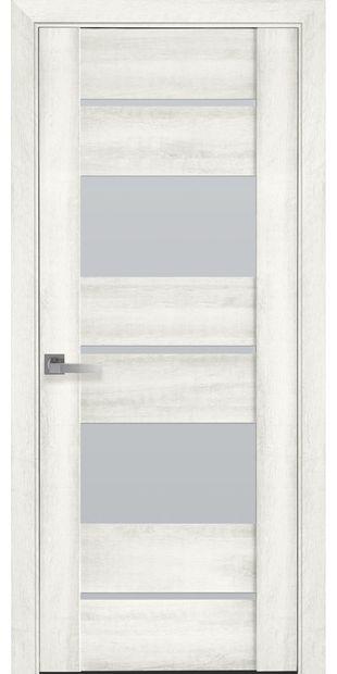 Межкомнатные двери Аскона со стеклом сатин askona9