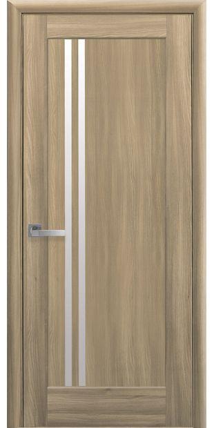 Межкомнатные двери Делла со стеклом сатин della-2