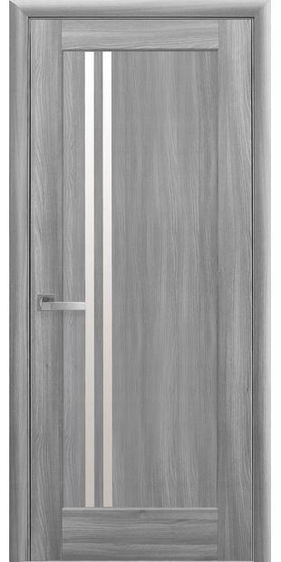 Межкомнатные двери Делла со стеклом сатин della-3