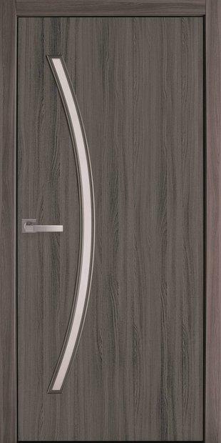 Межкомнатные двери Дива со стеклом сатин diva-10