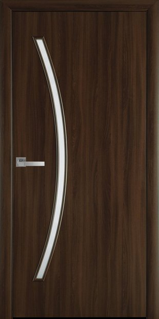 Межкомнатные двери Дива со стеклом сатин diva-11