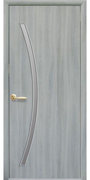 Межкомнатные двери Дива со стеклом сатин diva-4
