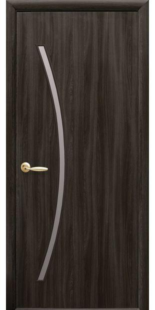 Межкомнатные двери Дива со стеклом сатин diva-6