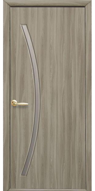 Межкомнатные двери Дива со стеклом сатин diva-7