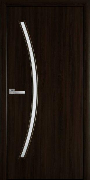 Межкомнатные двери Дива со стеклом сатин diva-9