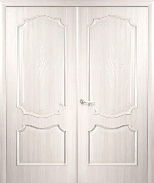 Двери двустворчатые Рока ясень делюкс глухое dveri-dvustvorchatye-roka-jasen-deljuks-gluhoe