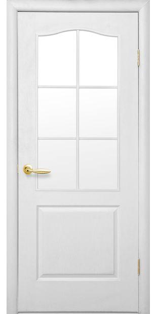 Межкомнатные двери Классик со стеклом сатин dvernoe-polotno-klassik-so-steklom-satin
