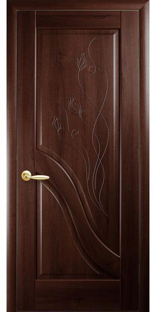 Межкомнатные двери Амата глухое с гравировкой dvernoe-polotno-pvh-deluxe-amata-gluhoe-s-gravirovkoj