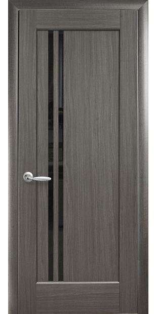 Межкомнатные двери Делла с черным стеклом dvernoe-polotno-pvh-deluxe-dellita-s-cernym-steklom-4
