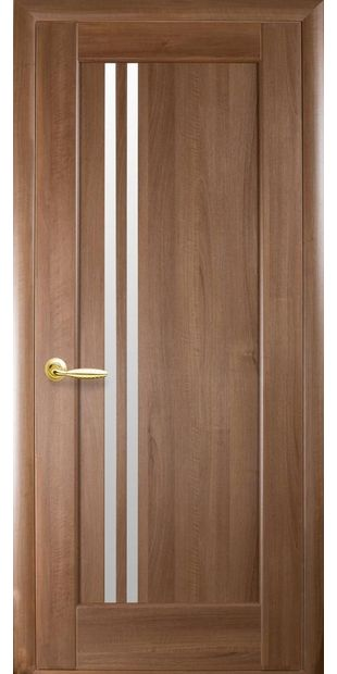 Межкомнатные двери Делла со стеклом сатин dvernoe-polotno-pvh-deluxe-dellita-so-steklom-satin-1