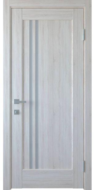 Межкомнатные двери Делла со стеклом сатин dvernoe-polotno-pvh-deluxe-dellita-so-steklom-satin-2