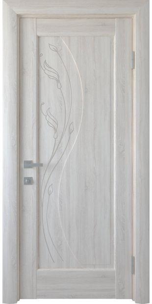 Межкомнатные двери Эскада глухое с гравировкой escada-8