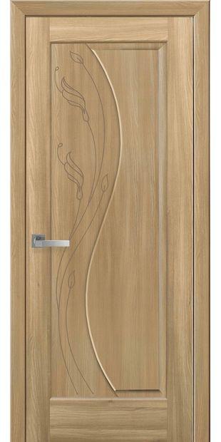 Межкомнатные двери Эскада глухое с гравировкой eskada-13