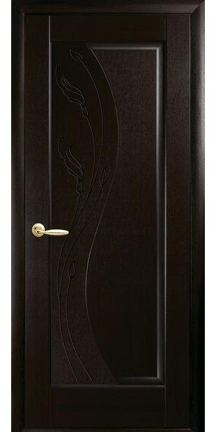 Межкомнатные двери Эскада глухое с гравировкой eskada-23