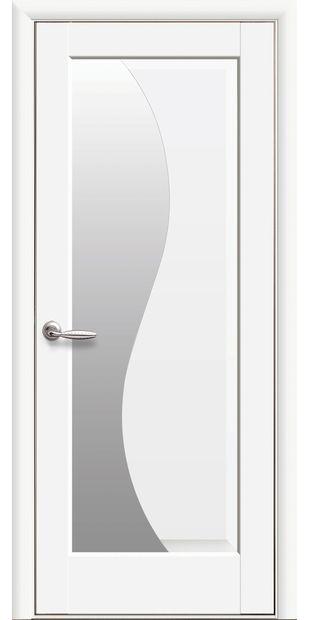Межкомнатные двери Эскада со стеклом сатин eskada-26