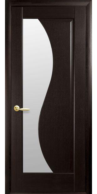 Межкомнатные двери Эскада со стеклом сатин eskada-27
