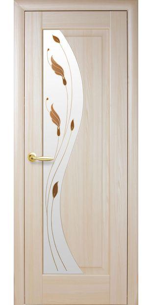 Межкомнатные двери Эскада со стеклом сатин и рисунком eskada-3