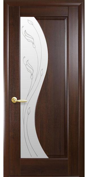 Межкомнатные двери Эскада со стеклом сатин и рисунком eskada-5
