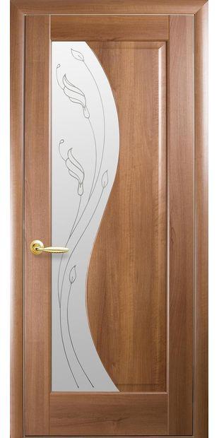 Межкомнатные двери Эскада со стеклом сатин и рисунком eskada-6