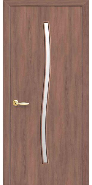 Межкомнатные двери Гармония со стеклом сатин garmonia-11