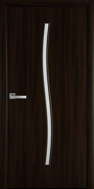 Межкомнатные двери Гармония со стеклом сатин garmonia-12