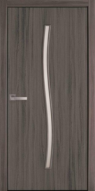 Межкомнатные двери Гармония со стеклом сатин garmonia-13