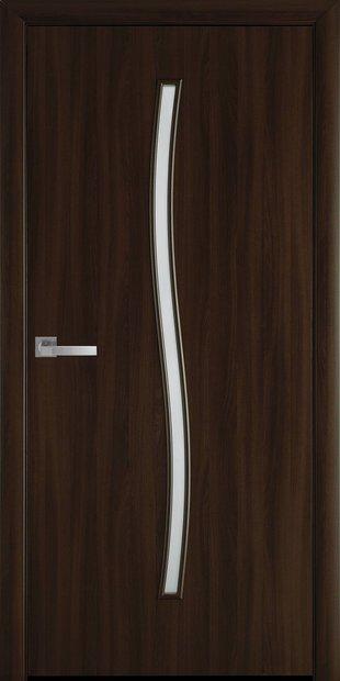 Межкомнатные двери Гармония со стеклом сатин garmonia-14