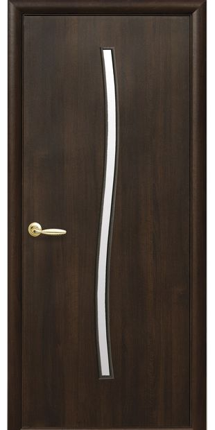 Межкомнатные двери Гармония со стеклом сатин garmonia-2